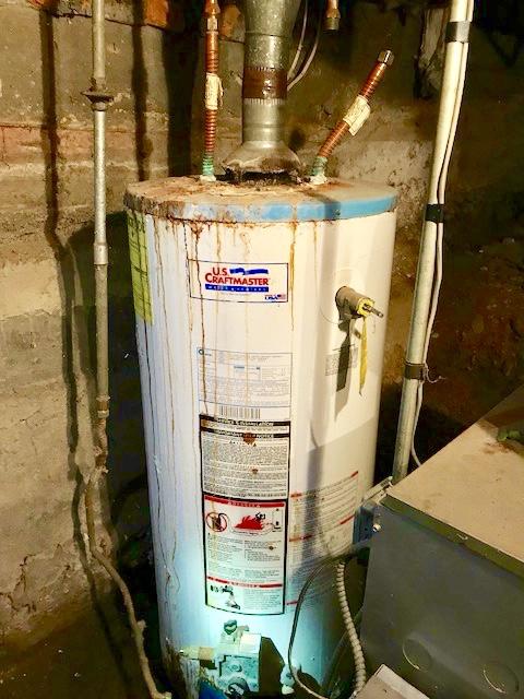 Bad Water Heater Needing New Installation E W Tompkins